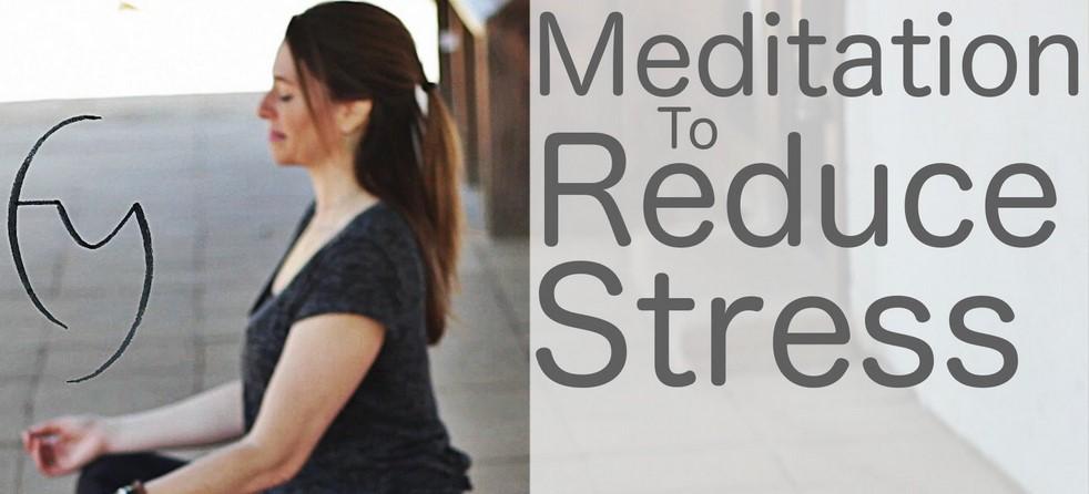 meditatia pentru reducerea stresului