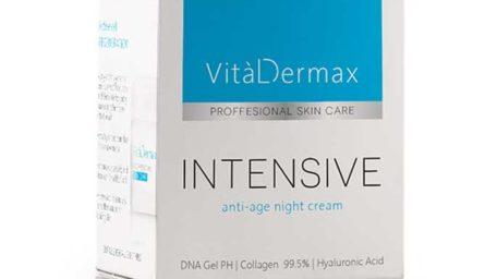 VitalDermax: Agent de ingrijire intensiva a pielii ce contine acid hialuronic?