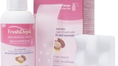 FreshDepil Crema – indeparteaza rapid firele de par