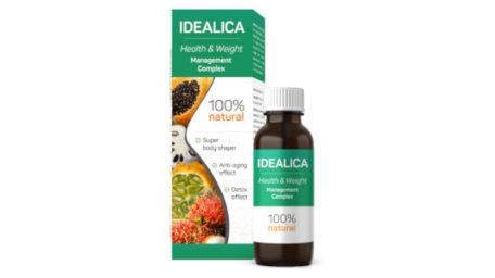 Idealica – Picături pentru obținerea unui corp sănătos