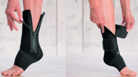 Confort Ankle – bandă elastică pentru ameliorarea durerilor de gleznă