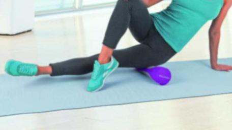 Vibrating Massage Roller – rolă pentru fitness cu suprafață poroasă