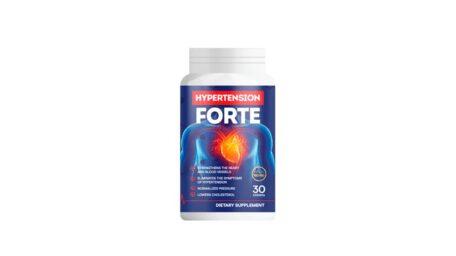 Hypertension Forte – curăță vasele de sânge și normalizează tensiunea arterială