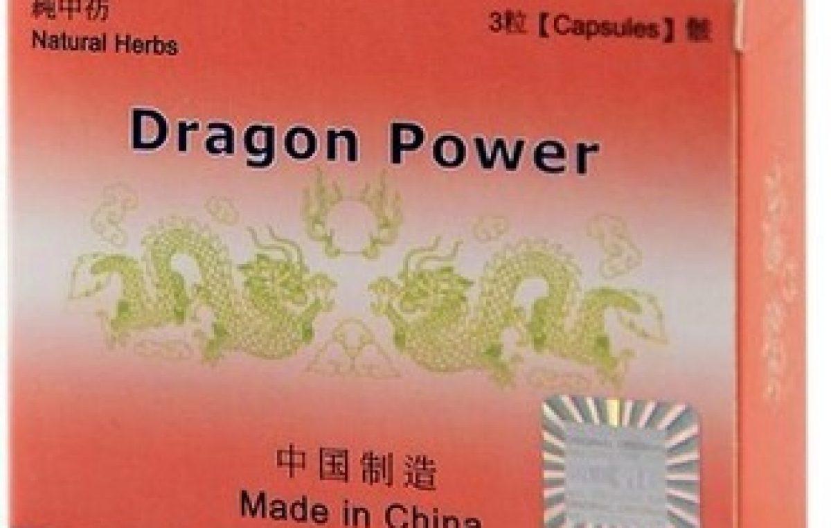 Dragon Power – 3 capsule pentru potenta