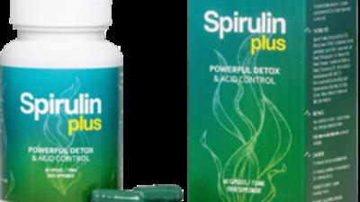 Spirulin Plus pentru o detoxifiere puternica si controlarea aciditatii