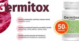 Germitox – un produs pentru paraziti intestinali