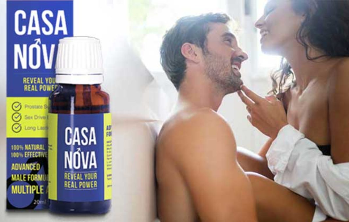 Casanova – picături pentru plăcere maximă