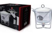 Soup Warmer – vas din sticlă termorezistentă
