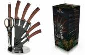 Wood Touch Stand – cuțite din oțel inoxidabil