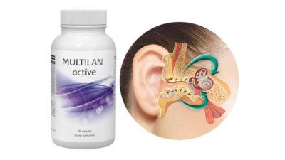 Multilan Active New – capsule pentru recuperarea auzului