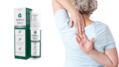 ArthroMed – cremă pentru dureri și inflamații articulare