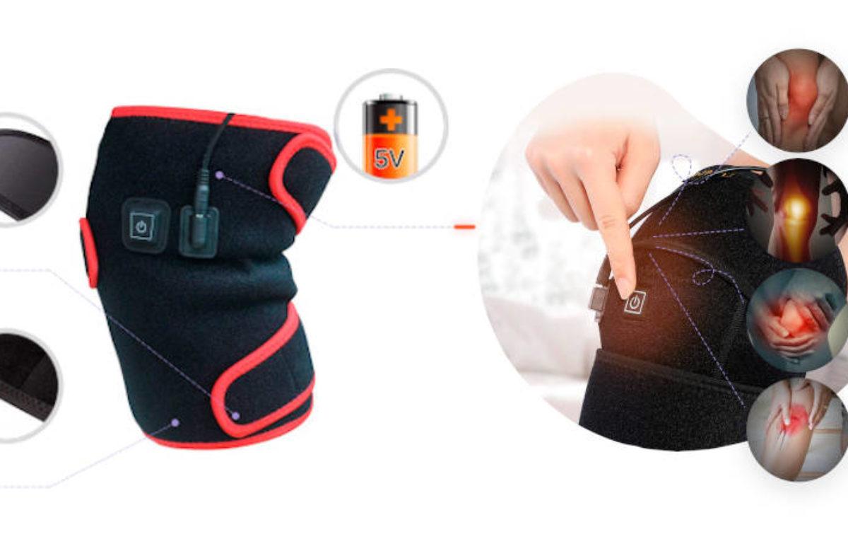 ThermaFix – genunchieră cu emițător infraroșu pentru încălzirea articulației