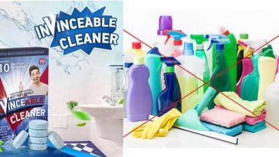 Invinceable Cleaner – curață orice suprafață murdară