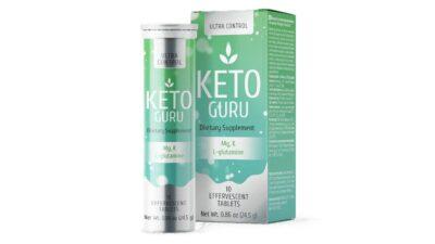 Keto Guru – tablete efervescente pentru slăbit, cu efect rapid