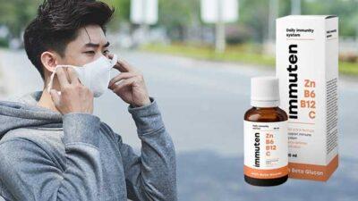 Immuten – protejează organismul împotriva virusurilor și întărește imunitatea