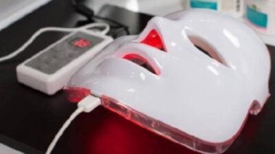Masca faciala cu LED – diminuează ridurile?