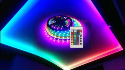 Led Strip – bandă LED cu 12 culori luminoase