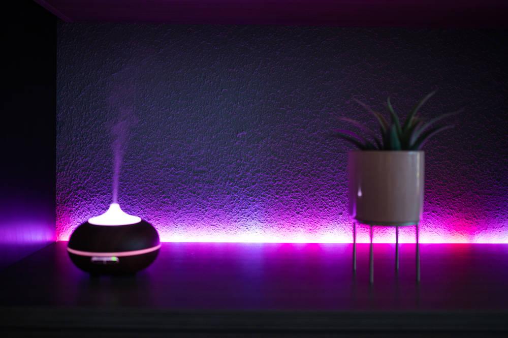 banda LED luminoasa