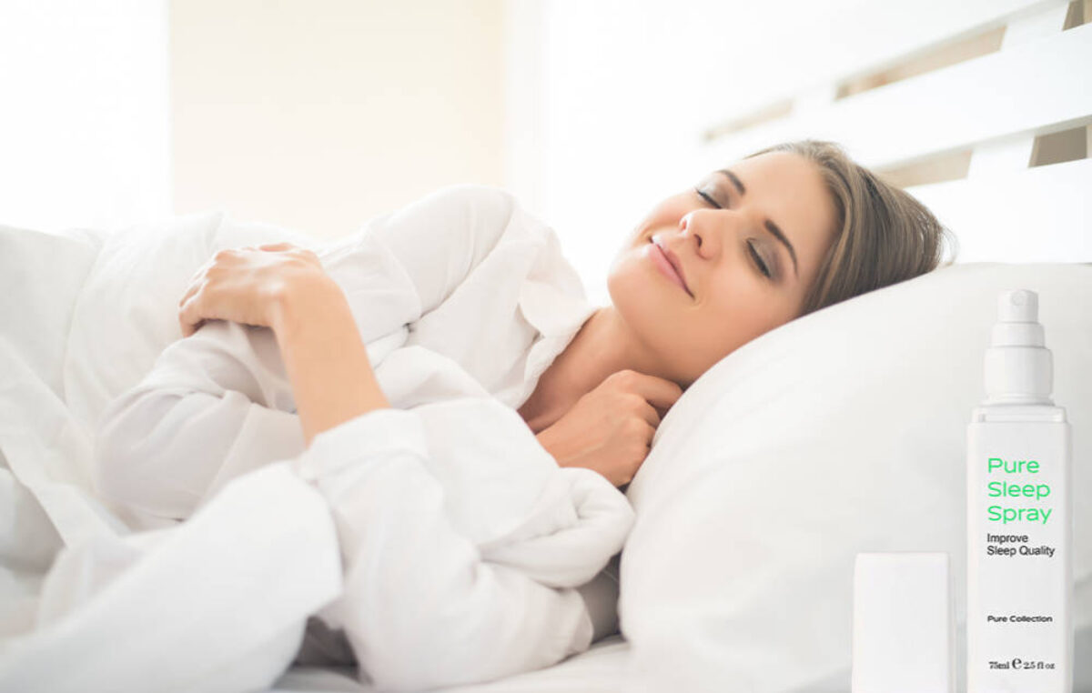 Pure Sleep Spray – adormi mai repede și te trezești mai odihnit