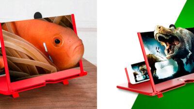 3D Smart Magnifier – amplificator de imagine pentru smartphone