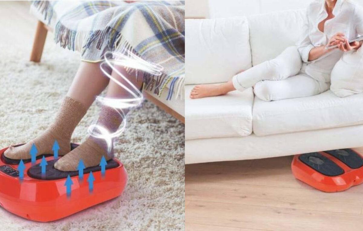 Aparat de masaj pentru picioare MaxxMe – relaxează mușchii și detensionează picioarele obosite