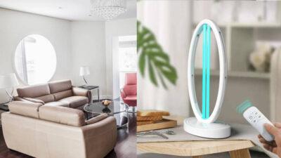 Lampa UV-C RoomGuard – omoară până la 99.9% dintre germeni, virusuri și bacterii