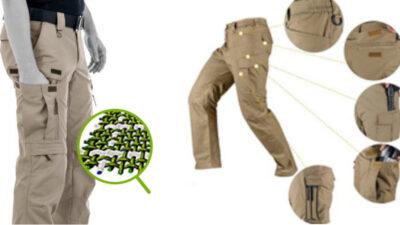 Pantaloni tactici – impermeabili și rezistenți la uzură, potriviți pentru activitățile în aer liber