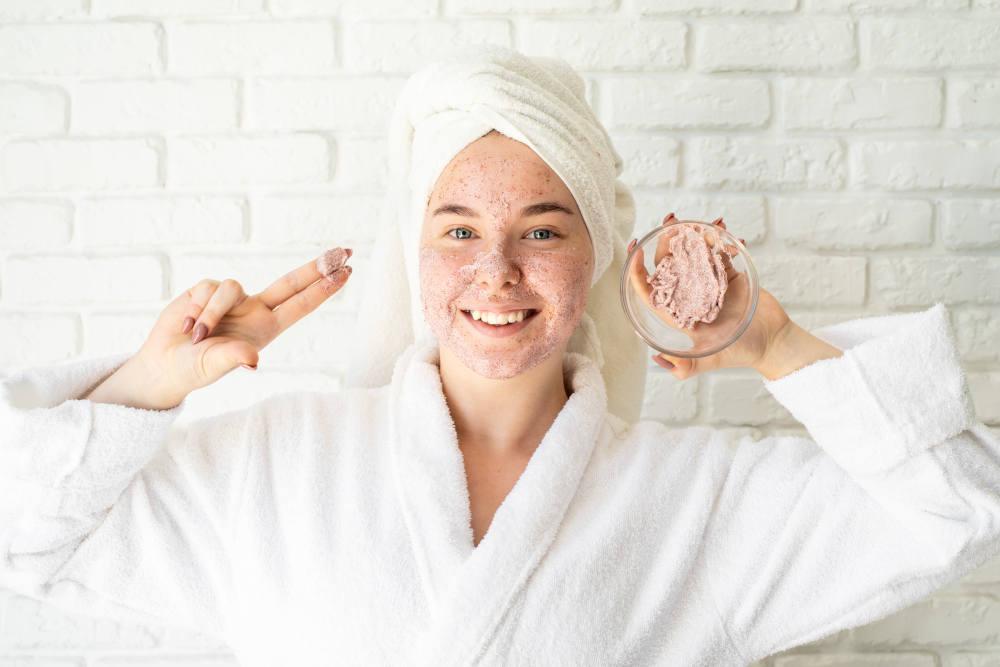 scrub exfoiere tratament acnee