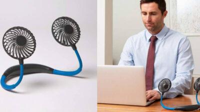 Chillmax Neck Fan – ventilatoare portabile pentru gât