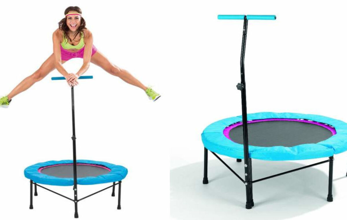 PowerMaxx Fitness Trampoline – trambulină pentru arderea caloriilor și antrenarea mușchilor